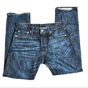Levis 501 Jeans Men's Size 34 x 32 Button Fly